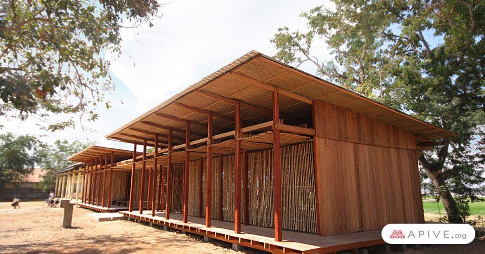 construcciones sustentables, casas de madera