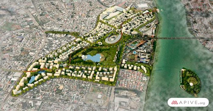 proyecto arquitectónico Ciudad Nueva Guayaquil
